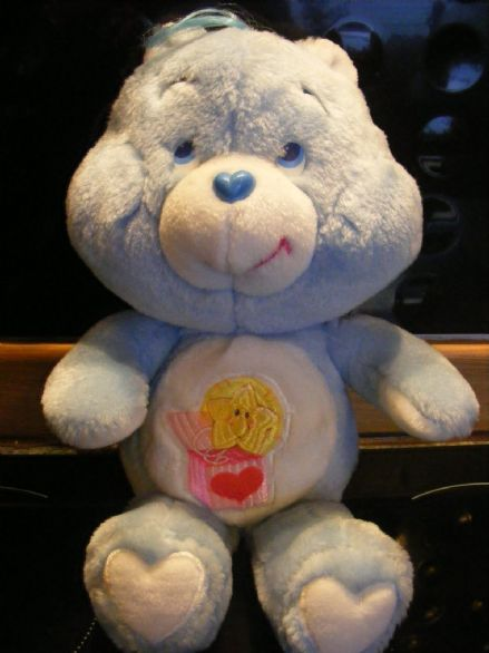 "VINTAGE 12"" SURPRISE CAREBEAR 80S CARE BEARS"